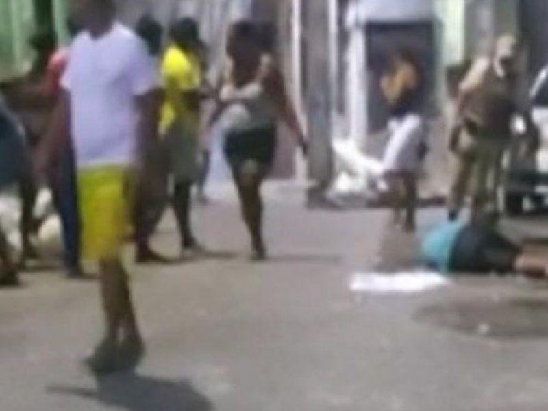 Tiroteio deixa mais de 5 pessoas feridas no bairro de São Caetano