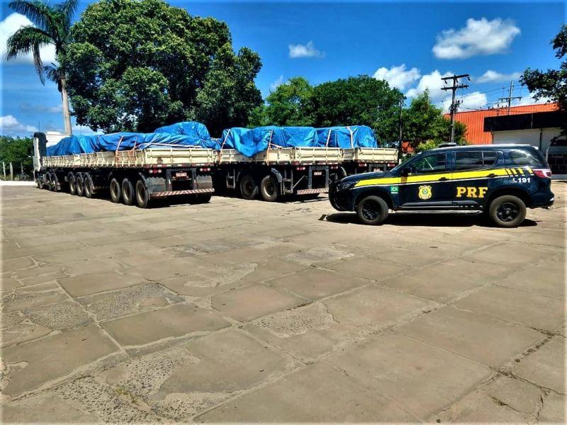 Balanço: 10 milhões de quilos de excesso de peso foram barrados nas rodovias federais na Bahia em 2021