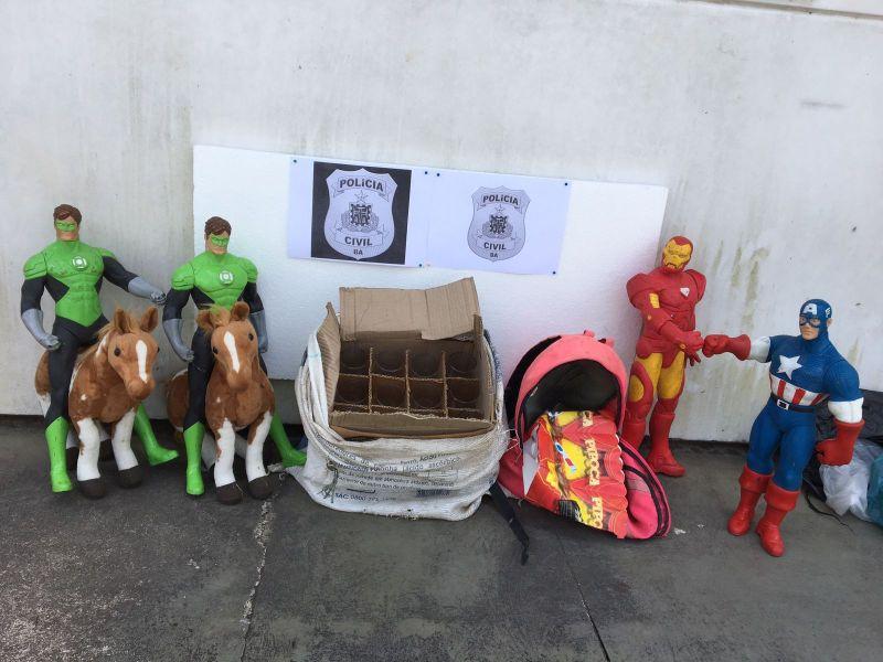 Homem suspeito de roubar loja de festas infantis é preso em Alagoinhas