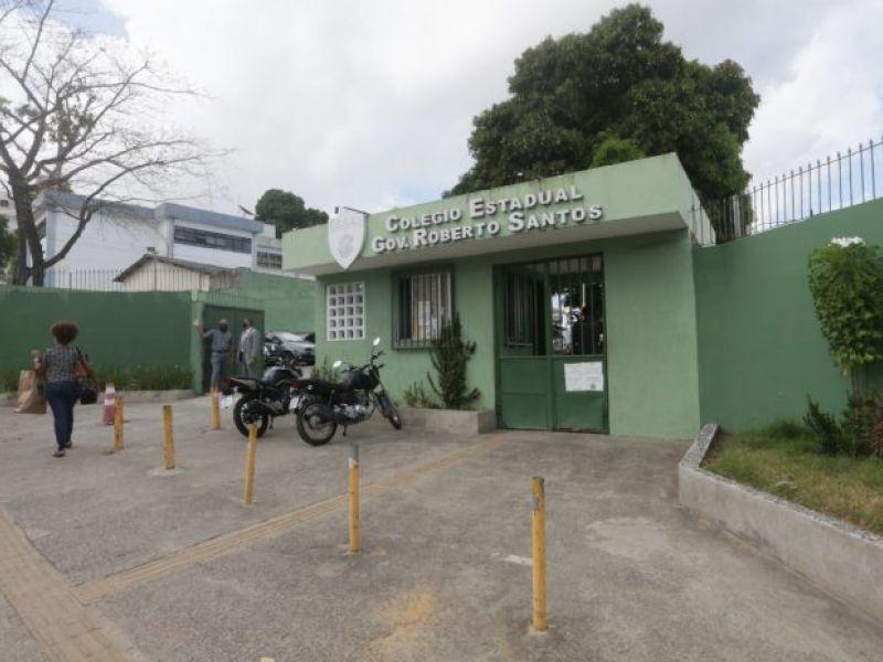 Governo investe R$ 6 milhões em obras de modernização no colégio Estadual Roberto Santos