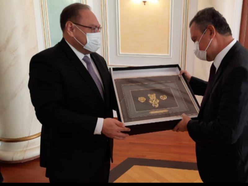 No Cazaquistão, Rui Costa se reúne com ministros e agência de investimentos