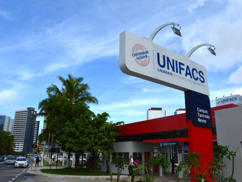 Unifacs oferece 50 bolsas integrais para os 50 melhores colocados no vestibular