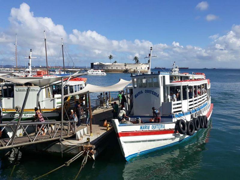Travessia Salvador-Mar Grande é suspensa por conta de maré baixa