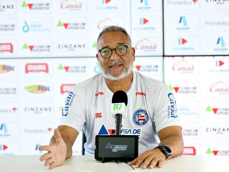 Mudança de escala motivou saída de Luiz Sapucaia do Bahia
