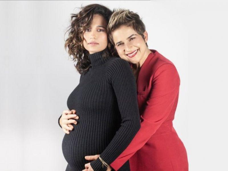 Nanda Costa e Lan Lahn celebram nascimento das gêmeas