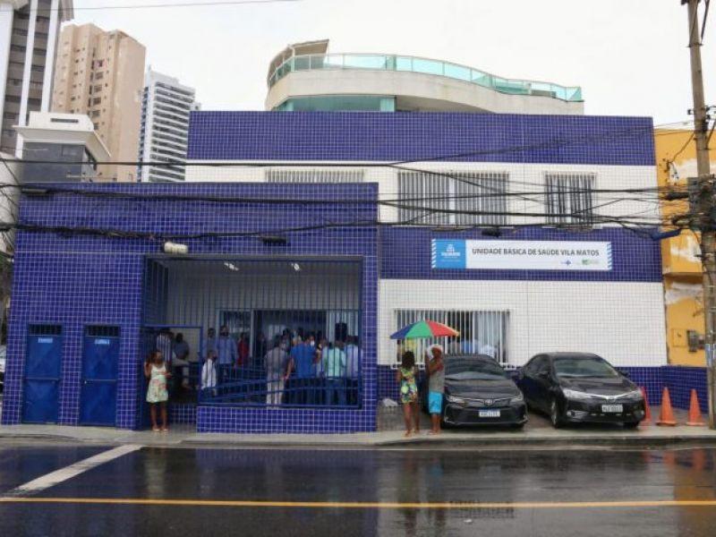 Salvador ganha unidade básica de saúde instalada em imóvel cedido pelo Governo do Estado