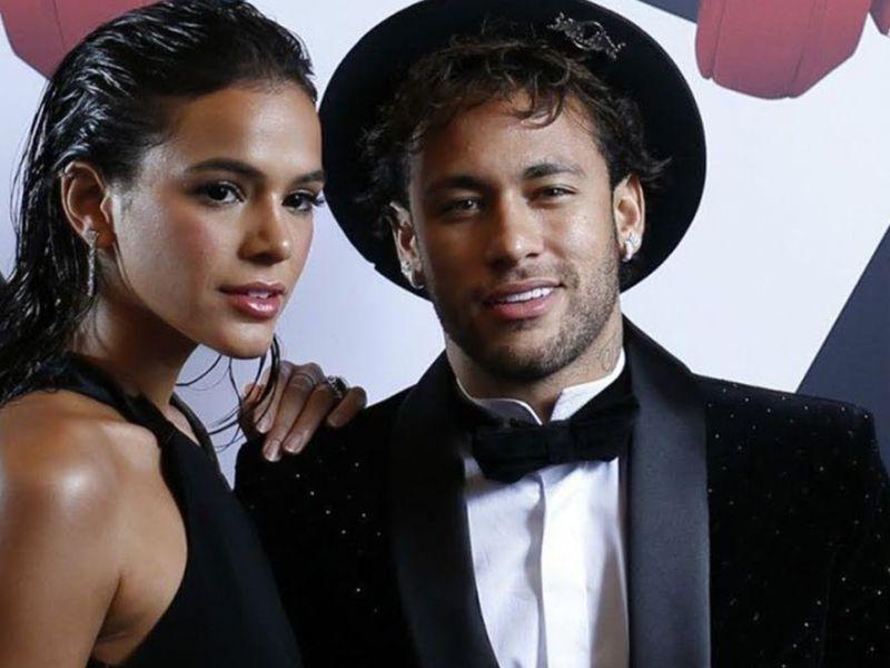 Bruna Marquezine diz não querer encontrar Neymar; jogador comemora com dancinha