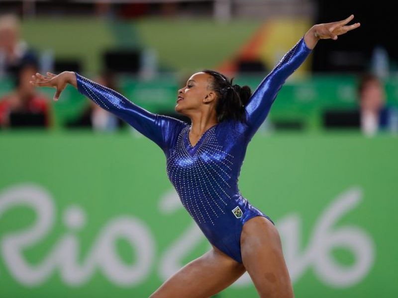 Mundial de ginástica: Rebeca Andrade termina em 6º lugar na trave