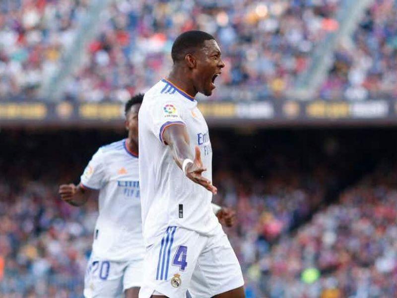 Alaba marca na vitória do Real sobre Barça, o 1º clássico da temporada