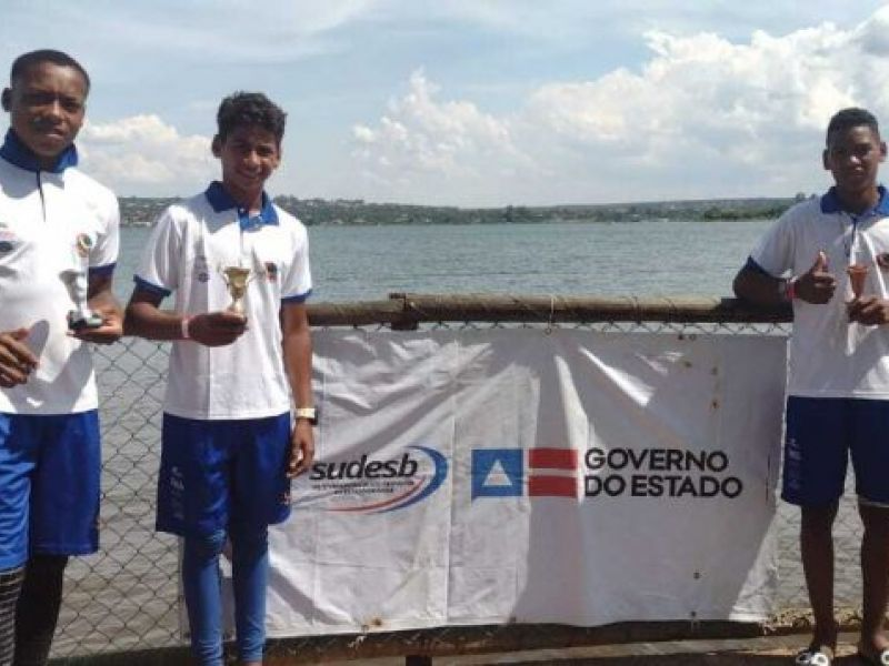 Canoístas baianos conquistam 16 medalhas durante Campeonato Brasileiro de Canoagem