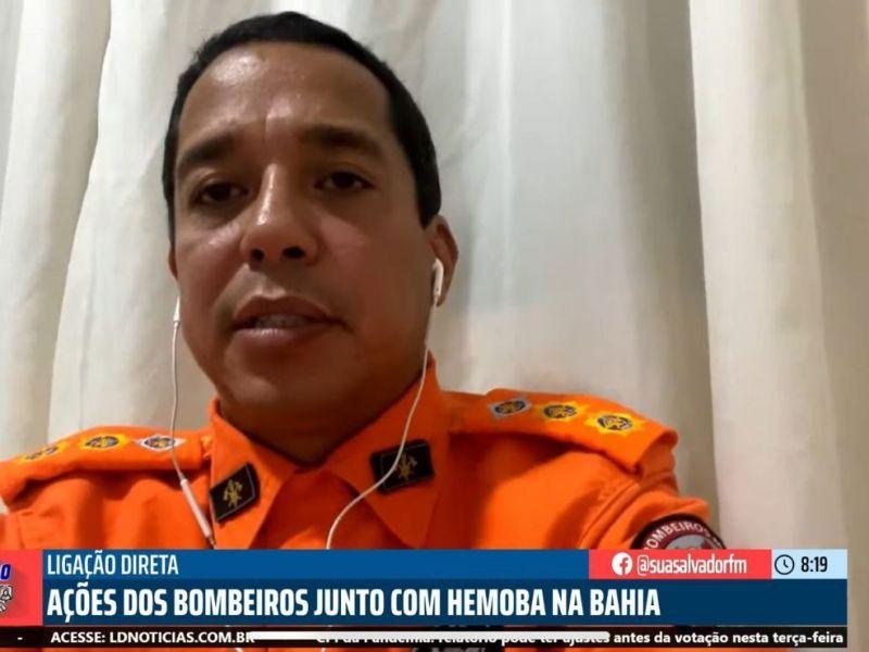 Bahia não registra mais nenhum foco de incêndios, afirma tenete do CBMB
