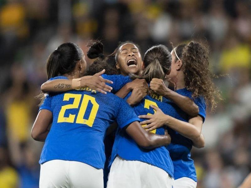 Seleção Feminina reage e garante empate em jogo contra a Austrália